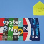 [ロンドン] 移動の強い味方:オイスターカード